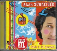CD 13T + 12T EN KARAOKÉ ALAIN SCHNEIDER MIDI A 14 HEURES 2004 NEUF SCELLE