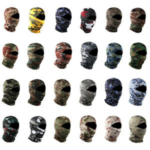 Tactical Snood Mask Head Wrap Scarf Balaclava Cadet Neck Warmer Army Airsoft Hat