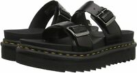 Dr. Martens Men's Shoes Myles Leather Leather Slip On, Black Brando, Size 9.0 E0