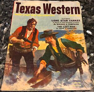 TEXAS WESTERN 2:1 1953 F/VF G.Dickson, Steve Fisher, Lynch Law