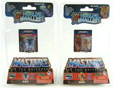 (Set of 2) World's Smallest HE-MAN & SKELETOR Masters of the Universe MOTU