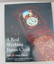 EMPIRE Working Jigsaw Puzzle Grandfather Clock NEW! L#1358