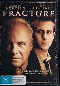 Fracture DVD - Anthony Hopkins - Free Post