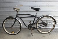 Vintage OLD Schwinn Typhoon Bicycle Black