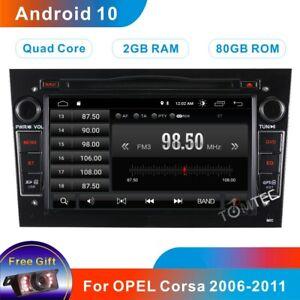 For VAUXHALL Opel Corsa Antara Astra Vectra Meriva DAB+ Car Stereo GPS Sat Nav