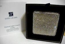 ESTEE LAUDER DIAMOND NIGHTS LUCIDITY PRESSED POWDER CRYSTAL COMPACT 2015 NIB