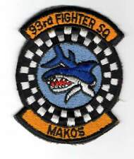 USAF patch - 93rd Fighter Squadron (482nd FW) - (AFRES) - F-16 - Homestead AFB