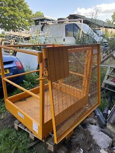 Forklift Access Platform / Safety Cage 150kg Very Good Used Condition