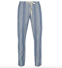 Paul Smith Pyjama Bottoms -BNWT Signature Stripe Cotton Pyjamas RRP:£80 Size: XL