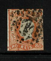 Portugal SC# 22, Used, side margin thin, small side tear - Lot 072317