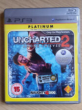 UNCHARTED 2 - AMONG THIEVES (PLATINUM EDITION) SONY PS3 - FREE UK P&P