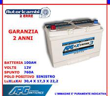 BATTERIA PER AUTO 100 AH POSITIVO A SINISTRA SX 760A SPUNTO APG EXTREME3 XET619L