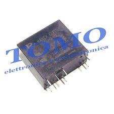 1 relè 24Vdc LM2-24D 5A/250VAC DPDT doppio scambio