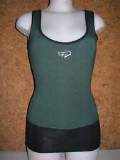 débardeur / tee shirt de danse TEMPS DANSE saturday - fibres bambou - Vert en S