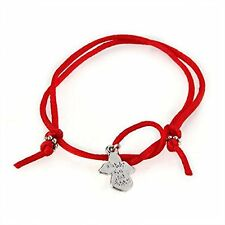 Guardian Angel Wish Red Cord Tibet Silver Bracelet CHIC B6L8