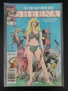 SHEENA # 1  IN A TWO ISSUE LIMITED SERIES -1984 VF/ NM COMIC BOOK