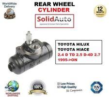 für Toyota Hilux Hiace 2.4 D TD 2.5 D - D-4D 2.7 1995-on hinterrad-zylinder