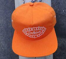 Benny Gold Skate Co. Know Ledge Orange Mens Snapback HatHTBEN-33