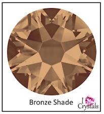 BRONZE SHADE 16ss 4mm 144 pieces Swarovski Flatback Crystal Rhinestones 2088