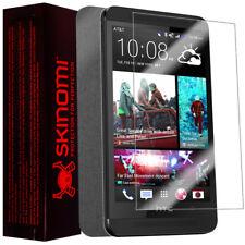 Skinomi Full Body Brushed Steel Phone Skin+Screen Protector for HTC One Max