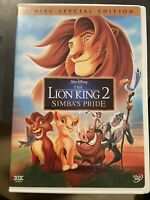 The Lion King II: Simbas Pride (DVD, 2-Disc Set) Special Edition