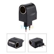 Adaptateur Convertisseur Transformateur 220V-12V Voiture Allume-cigare EU Plug