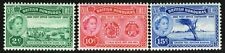 SG 191-193 BRITISH HONDURAS 1960 POST OFFICE CENTENARY SET - MOUNTED MINT