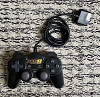 SONY PLAYSTATION PS1 PS2 PES6 PRO EVOLUTION SOCCER BLACK CONTROLLER IN VGC