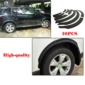 For Subaru Forester 13-17 Front&rear Arch Wheel Fender Flares Protector 10PCS