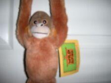 "NEW Wild Republic Hanging Orangutan Hugging Monkey Plush 24"" Monkey Gift"