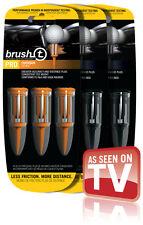 Brush-T Golf Tees 9Pk: 6xDriver & 3xOversize