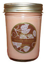 Brown Candle, Soy Candle Scented Soy Candles Caramelized Pralines 8 oz Jelly Jar