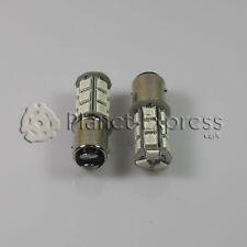 2 x Bombillas 18 LED SMD BAY15D Coche Freno y Posicion Bombilla Color Rojo 21/5w
