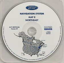 2003 2004 2005 2006 Ford Expedition Navigation CD Map Cover VT ME NH MA RI CT NJ