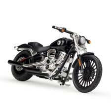 Maisto 1:18 Harley Davidson 2016 BREAKOUT Bike Motorcycle Model BLACK NEW IN BOX