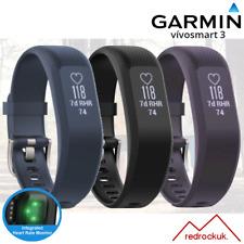 010-01755-02 Garmin Vivosmart 3 Fitness Tracker con Sensore Cardio al polso