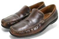 ECCO Men's $120 Driving Loafers Size EU 43 US 9-9.5 Leather Brown