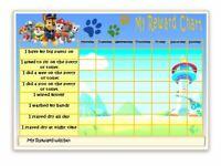 POTTY Reward Chart  TOILET TRAINING - FREE pen/stickers- MAGNETIC option- Reuse