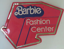 Barbie Fashion Center In Store Display Sign. No Reserve