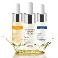 15ml Vitamin C/Six Peptides/ Hyaluronic Acid Serum Anti Aging Face Skin Care USA
