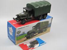 CIJ Norev C80602 - GMC CCKW Camion Bâchée Militaire - 1:43 neu OVP
