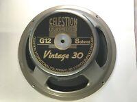 NOS UK MADE! Celestion Vintage 30 Guitar Speaker, 8 Ohm