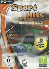 CD-ROM + Game Boxx + Sport Hits + 6 Spiele + Motocross + Minigolf u.a. + Win 7