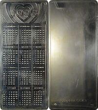 CALENDARIO LINGOTTO ARGENTO PURO .999 ANNO 1996 - 100 GRAMMI
