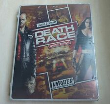 Death Race, Steelbook Limited Edition, Unrated, Blu-ray/DVD, Jason Statham