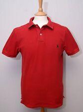 "Joules men's russet red heavy cotton pique short sleeve polo shirt S 36"" 92cm"