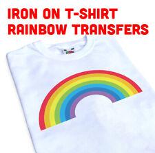 Iron On Rainbow Transfer, Create Your Own Tshirt