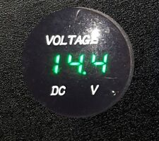 HONDA DEAUVILLE NT650V VOLTMETER PREWIRED FOR RIGHT DASH WITH PUSHFIT TERMINALS