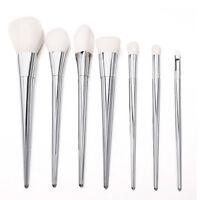 Pro Techniques Makeup Brushes Bold Design Metal Handle Real Bargain 7 Pcs RT Set