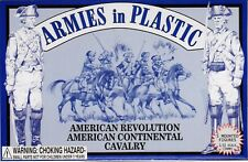 Armies in Plastic American Revolution Continenal Cavalry 1/32 Scale 54mm